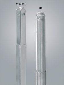 palo-fermacarico-pressione-sezione-quadrata-sezione-tonda